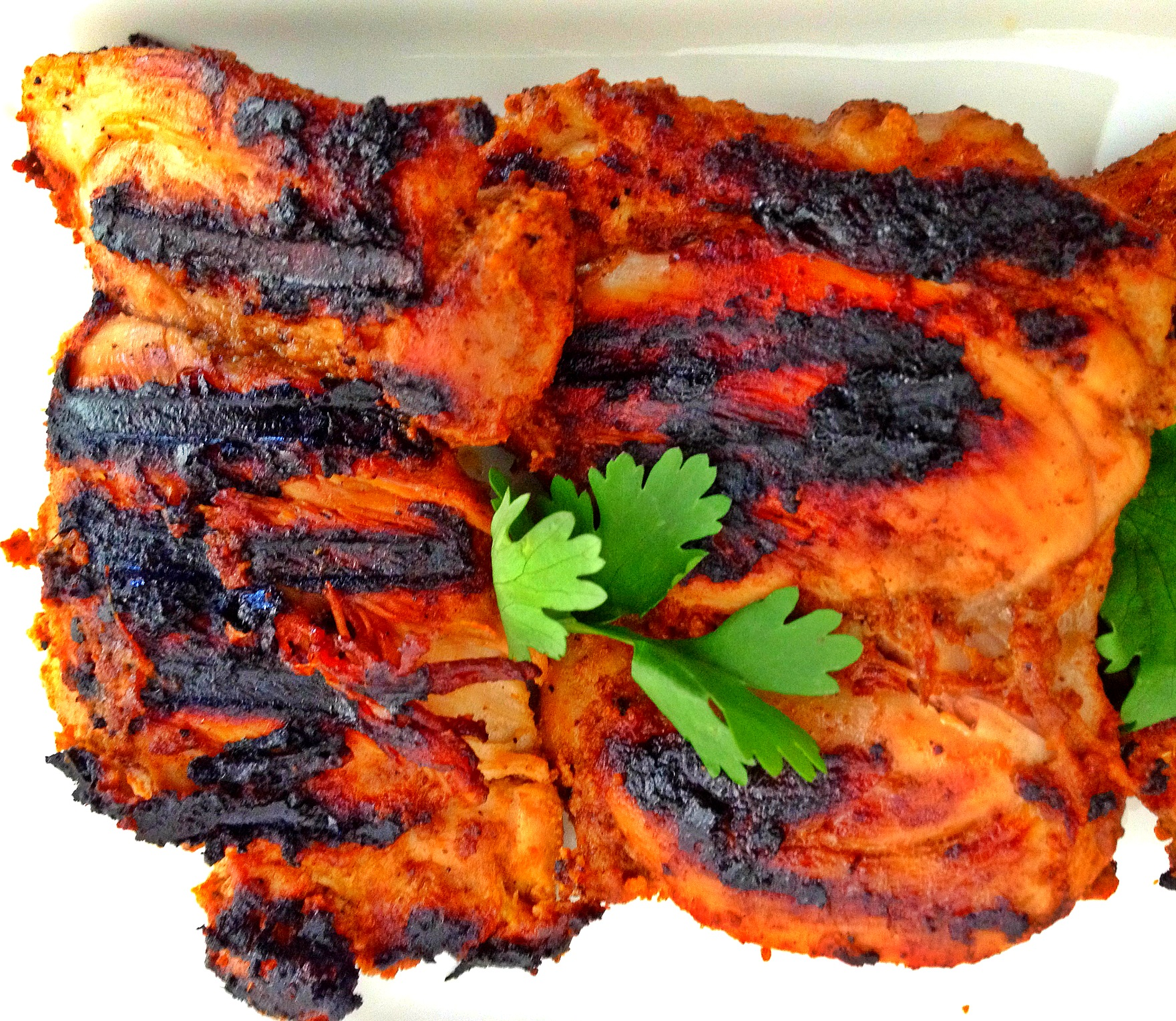 Easy grilled chicken indian style big apple curry indian grilled chicken forumfinder Image collections