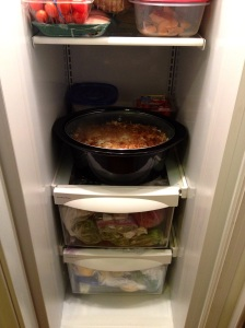 Storing lamb biryani in the fridge