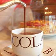 Burdick's hot chocolate