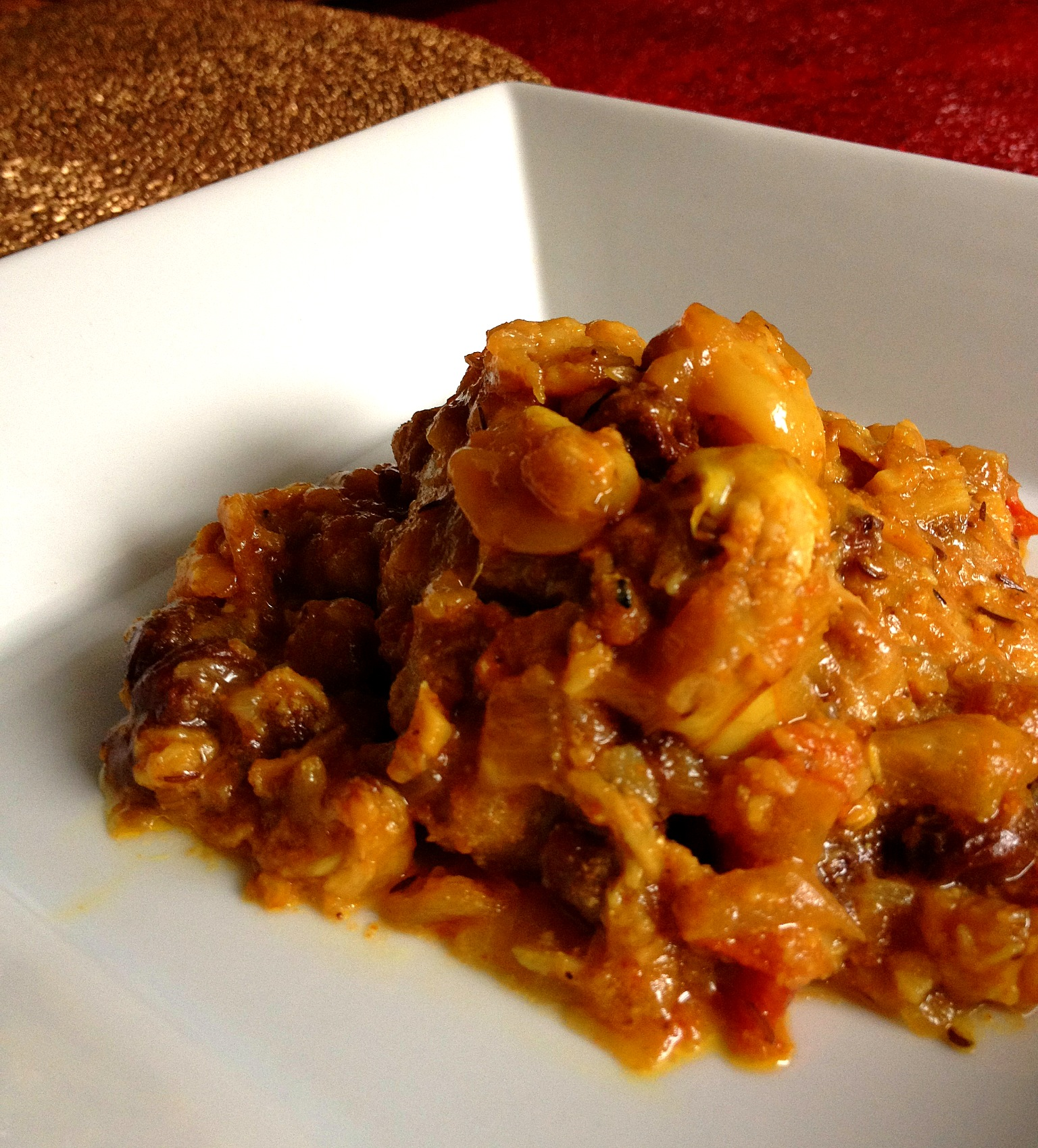 "spin on traditional ""Chicken with 40 Garlic Cloves"" with Indian ..."