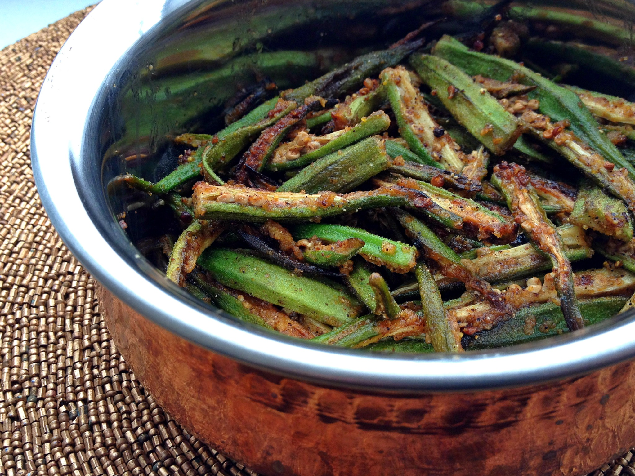 Indian Okra Recipe | Big Apple Curry