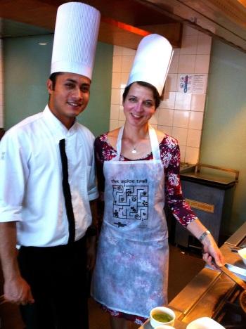 In the kitchen with Taj Vivanta executive chef Dinesh